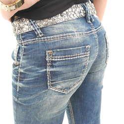 2e3f634b4bed Stylefabrik Fashion coole und ausgefallene Marken Kleidung  4 Damen Jeans  von Cipo   Baxx im Straight Fit Schnitt in der Farbe  Blau gefunden